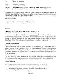 How To Write Appointment Letter Private Company Appointment Letter Format Top Form