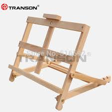 transon artist adjule beech wooden tabletop easel for oil painting foldable wooden easel mini wood easel in easels from office school supplies on