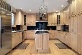 Kitchen Designs With Oak Cabinets Fascinating Traditional Whitewash Kitchen Cabinets 48 KitchenDesignIdeasorg