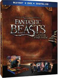 Amazon.com: Fantastic Beasts and Where to Find Them    Blu-ray + DVD +  Digital Copy (Newt's Case Pop-Up Presentation + 5-Character Cards) English,  Spanish & French (Audio & Subtitles): Eddie Redmayne, Katherine