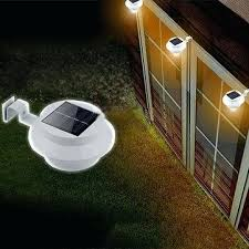 solar powered fence lights solar powered led fence light outdoor garden wall lobby pathway lamp solar solar powered fence lights