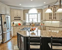 antique white kitchen ideas. Awesome Antique White Glazed Kitchen Cabinets Magnificent Design Ideas On A Budget With K