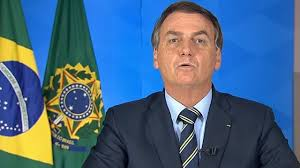 """Coronavirus: Jair Bolsonaro critica las medidas de confinamiento y compara  el covid-19 con un """"resfriadito"""" - BBC News Mundo"""