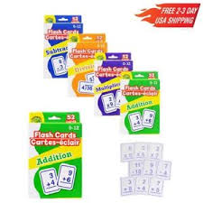 Math Flash Cards 52 Subtraction Multiplication Flash Cards 52
