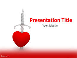 Heart Powerpoint Templates Free Kill Heart Powerpoint Template Download Free