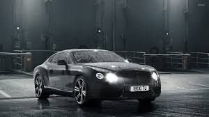bentley continental gt water car