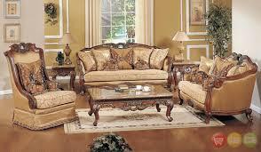 luxury living room furniture. Beautiful Formal Living Room Furniture With Exposed Wood Luxury Traditional Sofa Amp Loveseat N