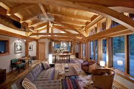 ... Jim and Pam's timber frame home in Washington has single level living  with a private tower ...