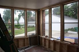 incredible window treatment ideas using porch bamboo blinds classy screened front porch design ideas using