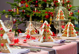 Christmas Dining Room Christmas Decorations Themes Christmas Dining Room Design With