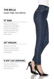 Womens Denim Size Chart And Fit Guide Joes Jeans
