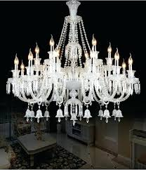 luxury large modern crystal chandelier lights glass arms candle chandeliers restaurant led for home antique copper