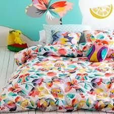 Girls Bed Linen, Kids Bedding, Kids Bed Linen - Cottonbox & Kaleidoscope Quilt Cover Set. Kaleidoscope Quilt Cover Set. by Kas Kids Adamdwight.com