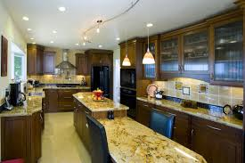 magnificent kitchens with islands. Outstanding Galley Kitchen Designs With Island : Beautiful Wooden Design Gloss Brown Marble Magnificent Kitchens Islands