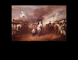surrender of lord cornwallis at yorktown virginia october 19th 1781 john trumbull