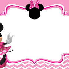 free minnie mouse invitation template minnie mouse birthday invitation templates free myspar info