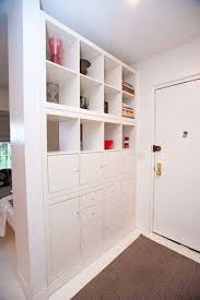 furniture with storage space. room divider with storage shelves furniture space
