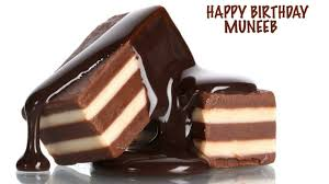 muneeb chocolate happy birthday