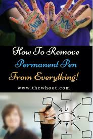 accidents happen and permanent marker
