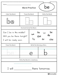 Sentences Using Sight Words Sight Words Worksheets Awesome Printable ...
