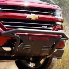 General Motors Front Bumper Nudge Bar With Silverado Script ...