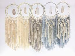 Boho <b>Crystal</b> Macrame <b>Dream Catcher</b> – Certain Notions