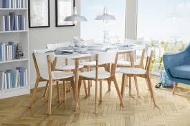 White Scandinavian Chairs ...