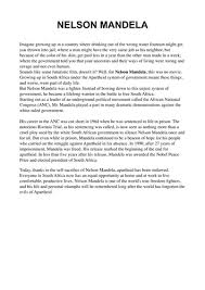 nelson mandela essay leadership leadership and nelson mandela essay 1436 words bartleby