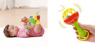 Đồ chơi cho trẻ sơ sinh 2 tháng tuổi: Ba mẹ cần lưu ý điều gì?