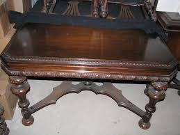 1930 s estimate Walnut Antique Dining Room Suit table W 3