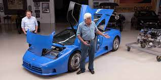 Jay leno is the lucky denim enthusiast who not only built the greatest and most organically evolving car collection on this planet but also started a show called jay leno's garage. Jay Leno Has A Spare Bugatti Eb110 Engine
