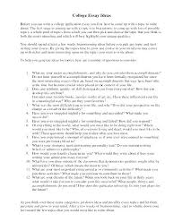 Photo Essay Ideas Examples Of College Essay Topics Resume Creator Simple Source