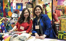 Exhibit at Original Sewing & Quilt Expo &  Adamdwight.com