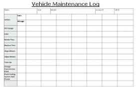 Company Car Log Book Template Free Vehicle E Maintenance