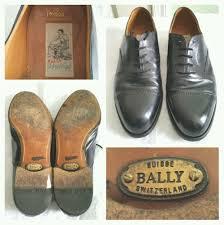 Bally Jacket Size Chart Details About Allen Edmonds Black Cap Toe Leather Shoes