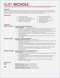customer experience manager resume for experienced manager fluently me