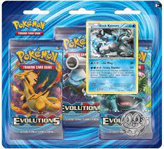 Pokemon Blister 3 Pack XY12 Evolutions - English: Amazon.de: Spielzeug
