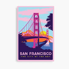 Browse our section of wall decor home & office for men, women, & kids and be prepared for 49ers game days! San Francisco Wall Art Redbubble