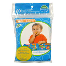 neat solutions neat ware table topper disposable stick on placemats 60 count