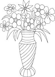 Coloriage Bouquet De Fleurs Imprimer Pertaining To Dessin Coloriage Bouquet De Fleurs A Imprimer Dans Les Coloriages St L