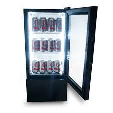 countertop display merchandiser refrigerator 2 5 cu ft 4 view black