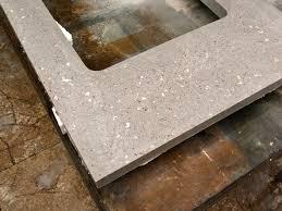 terrazzo concrete countertop cut clear step 2 exchange regarding countertops plan 36