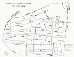 greenwood union cemetery  cemetery grounds map