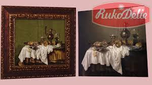 <b>Вышивка</b> по картинам художников - Гобленсет Завтрак с омарами