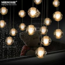 modern decoration led crystal bubbles ball light dinning pendant light fixture with led bulbs mounted base