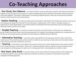 Sample Teacher Lesson Plan Template Delectable CoTeaching Taylor R Casarez