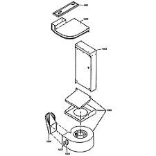 ge electric range parts model jsp69wvww sears partsdirect ventilation
