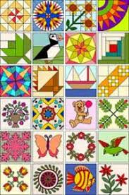 Quilt Design Software Programs - Tools For Quilting & Easy Quilt 7 blocks Adamdwight.com