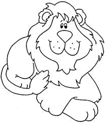 Small Picture Lion Coloring Pages lezardufeucom