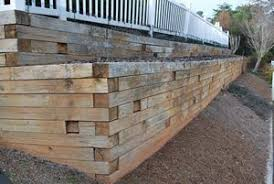 Small Picture Wood Retaining Walls Peachtree City Fayetteville GA Landscape
